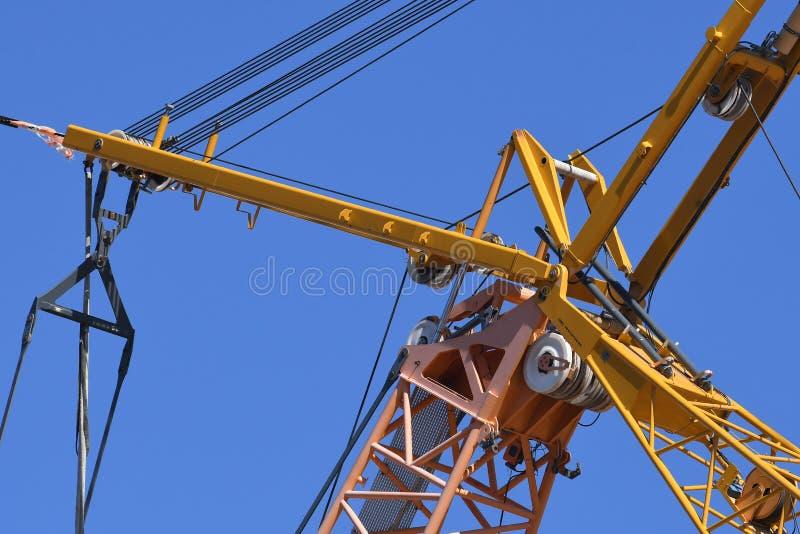 Structureel Staalbouw voor de Nieuwe Bouw stock afbeelding