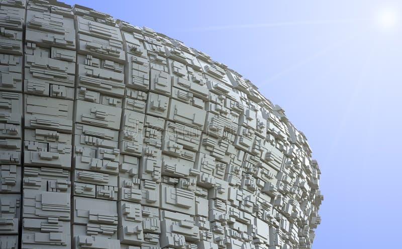 Structures abstraites de sphère illustration de vecteur
