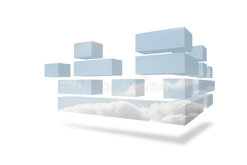 Download Structures showing sky stock illustration. Illustration of generated - 37369134