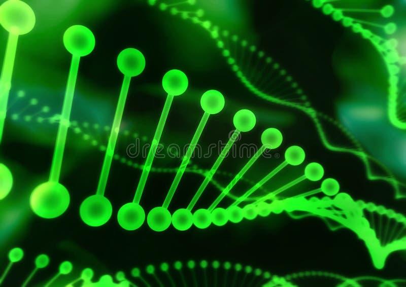 Structuur 01 van DNA vector illustratie