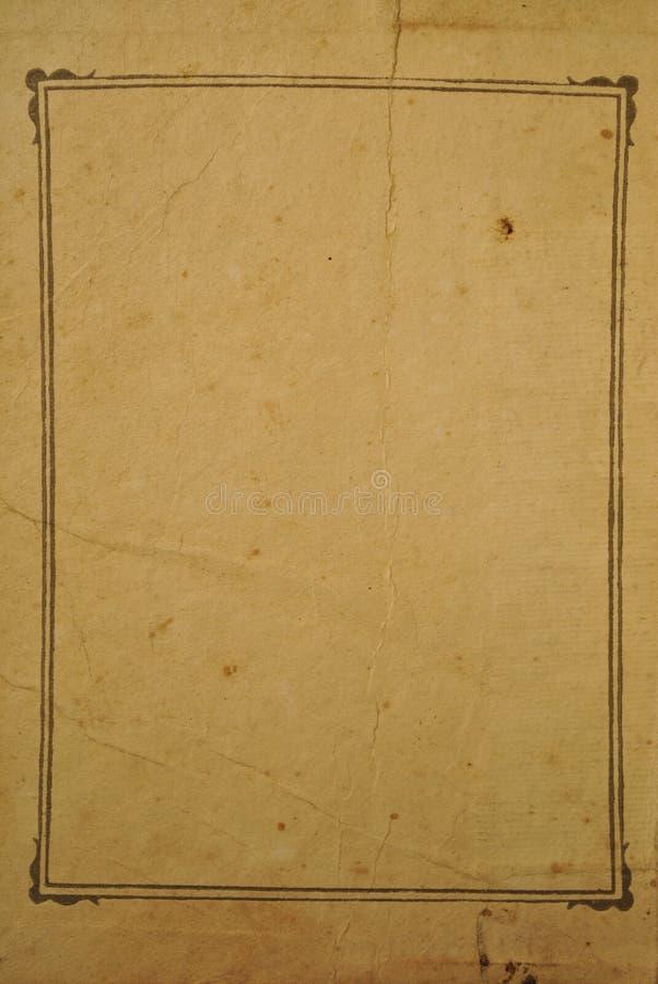 Structuur van een oud document royalty-vrije stock fotografie