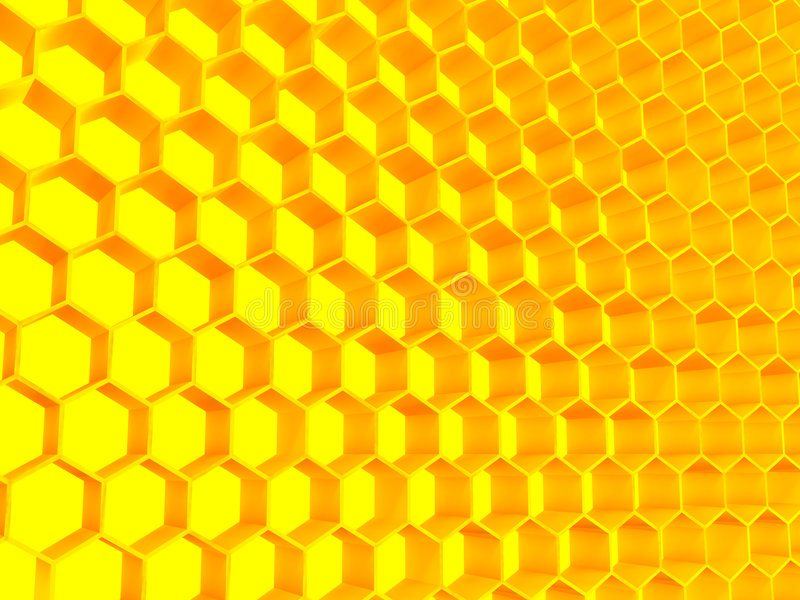 Structuur van gouden kleur stock illustratie