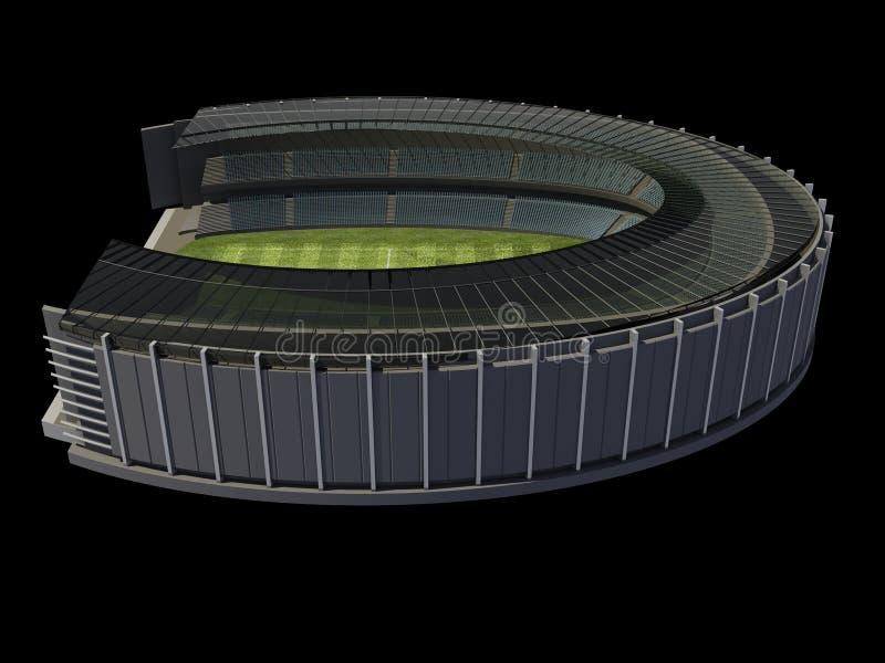 Structuur van het Stadion royalty-vrije illustratie