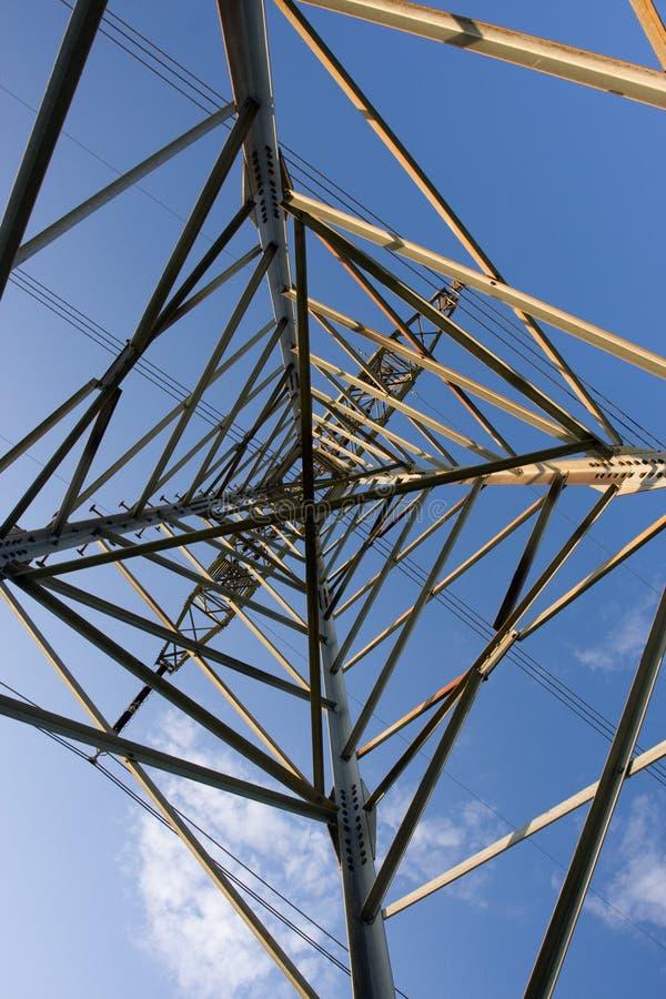 Structuur van kaderelektriciteit stock fotografie
