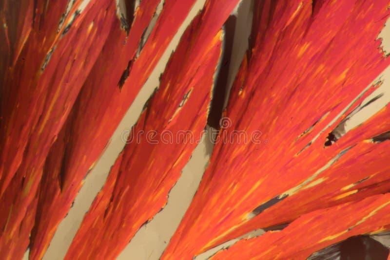 Strucure cristalino de un compuesto sólido foto de archivo