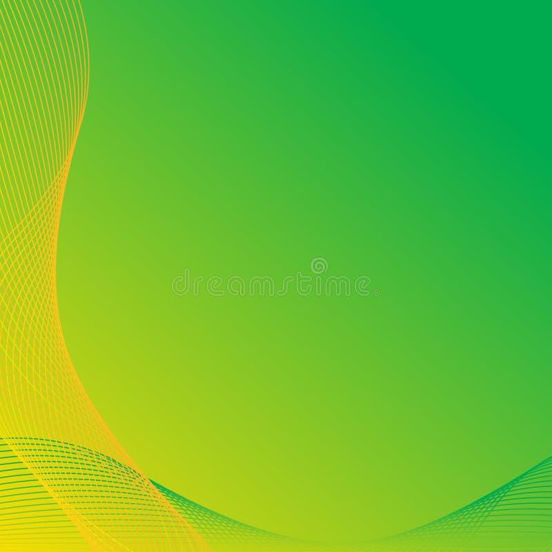 Strudel-abstrakter Hintergrund lizenzfreie abbildung