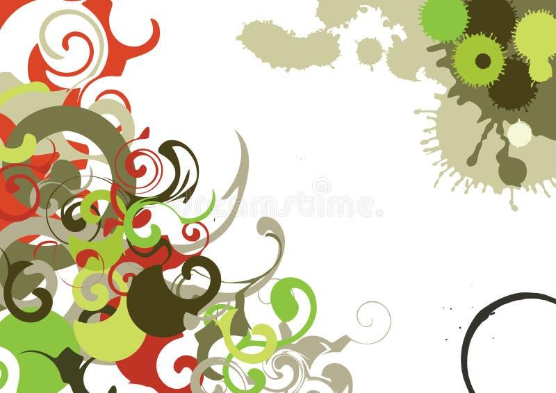 Strudel-Hintergrund lizenzfreie abbildung