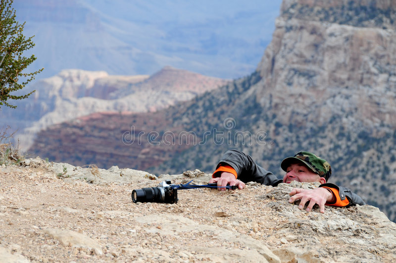 Download Struggling photographer stock image. Image of dropped - 7063501