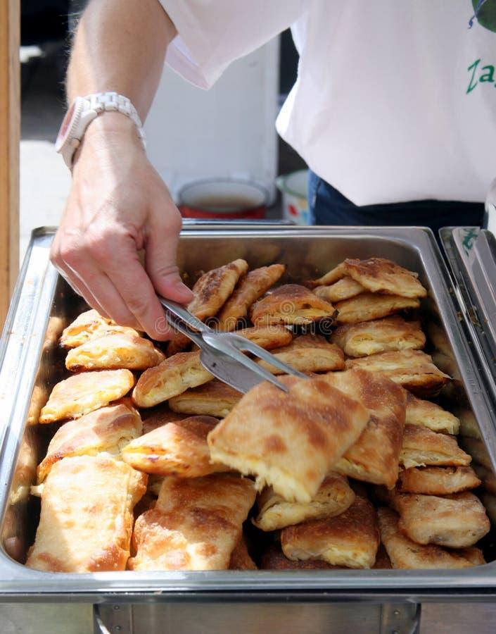 Strukli, traditional Croatian ancient dish, Europe royalty free stock image