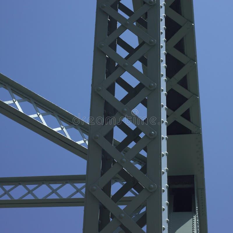 Struktur av en bro arkivfoto