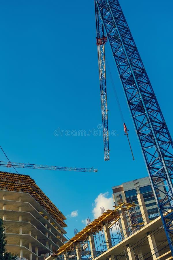 Struktur av en ny konkret byggnad royaltyfri fotografi