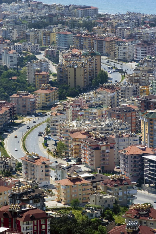 Struktur der Stadt lizenzfreies stockfoto