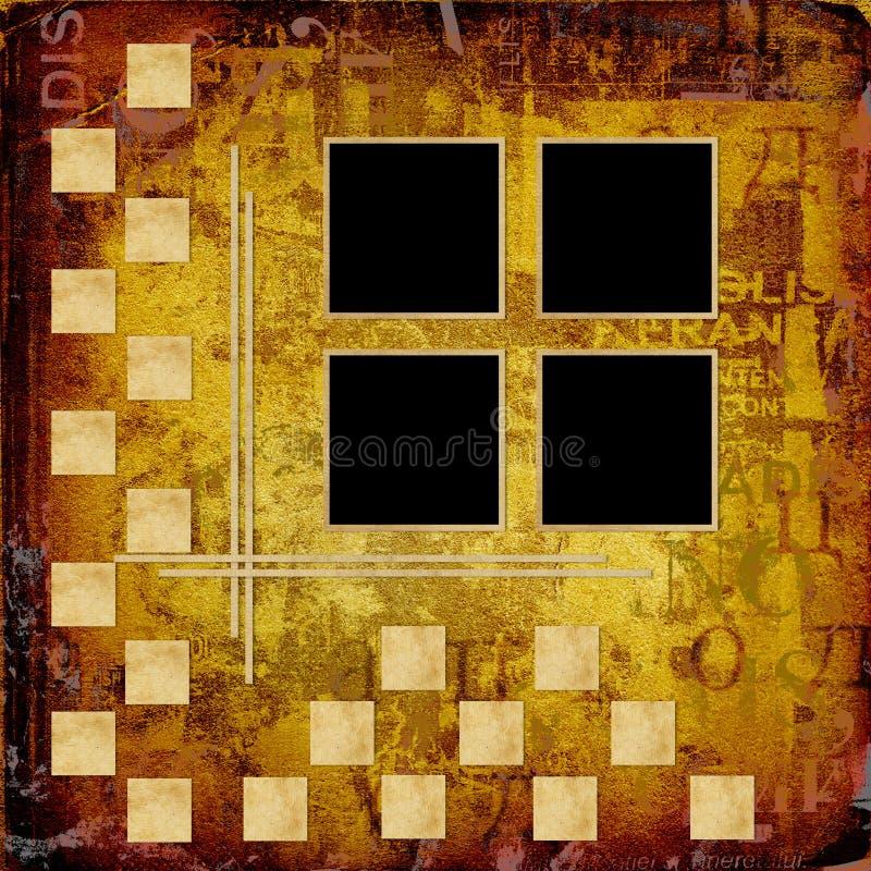 Download Struktur Grunge Zaproszenie Ilustracji - Ilustracja złożonej z target31, dekoracyjny: 13333680