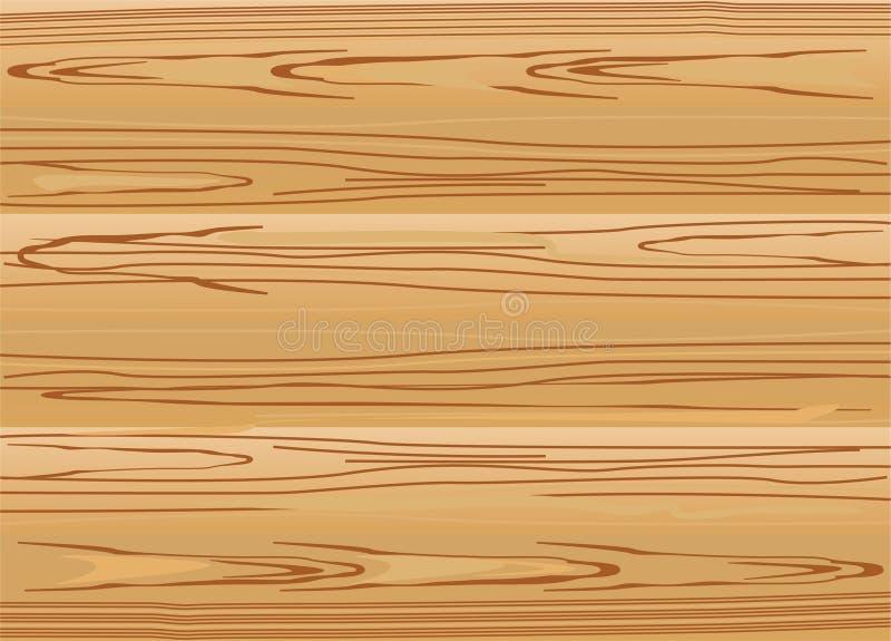 Struktur på vektorgbruna träplankar arkivbilder