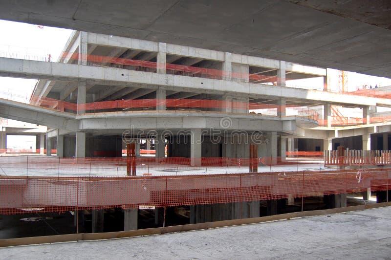 Struktur under konstruktion royaltyfria foton