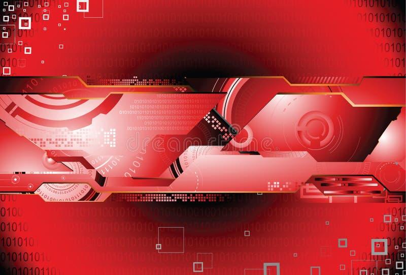 struktura badania technologii ilustracja wektor