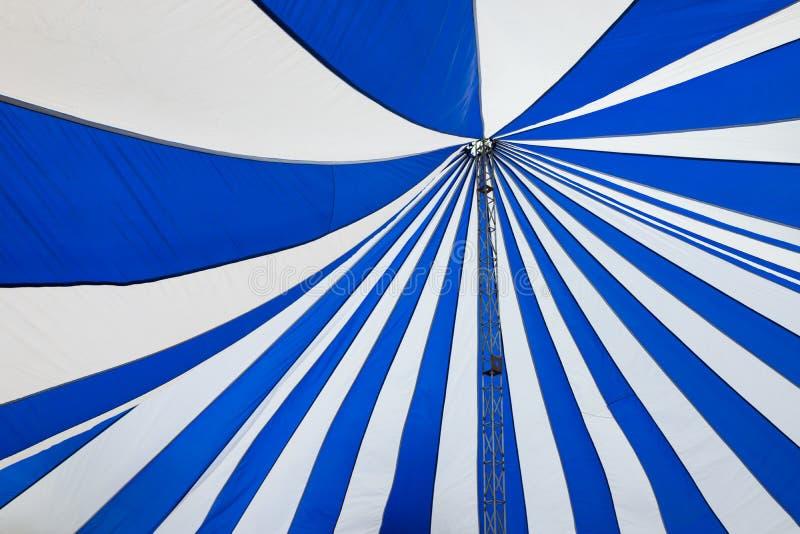 Struktura duzi biali kanwa dachu namioty zdjęcie stock