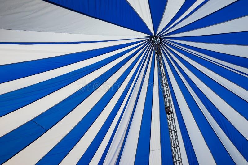 Struktura duzi biali kanwa dachu namioty zdjęcia royalty free