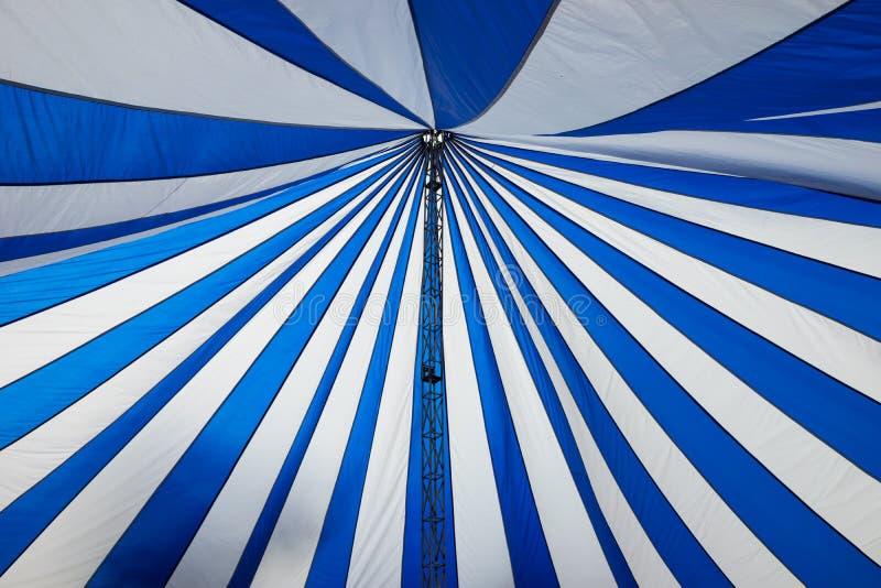 Struktura duzi biali kanwa dachu namioty obrazy royalty free
