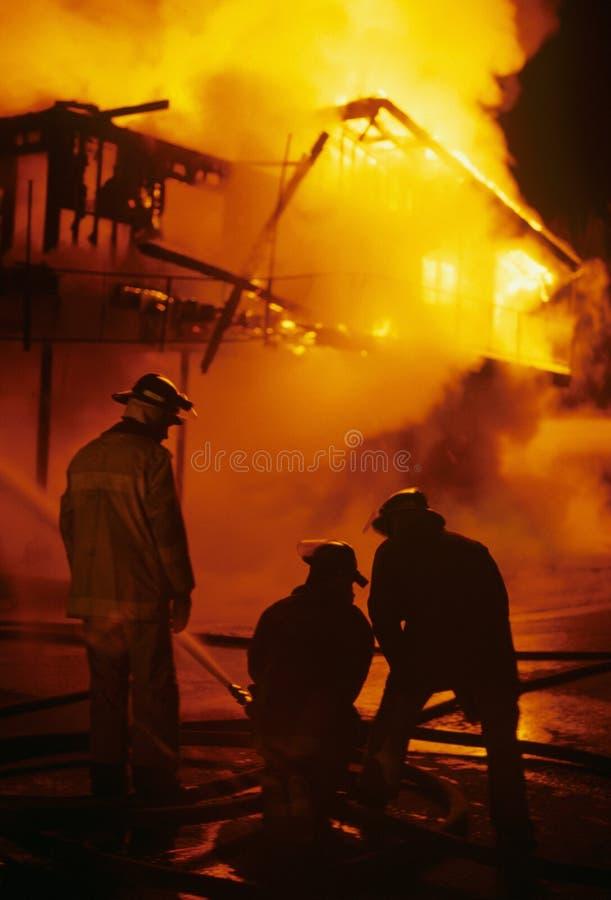 Struktura ogień 2 obraz royalty free