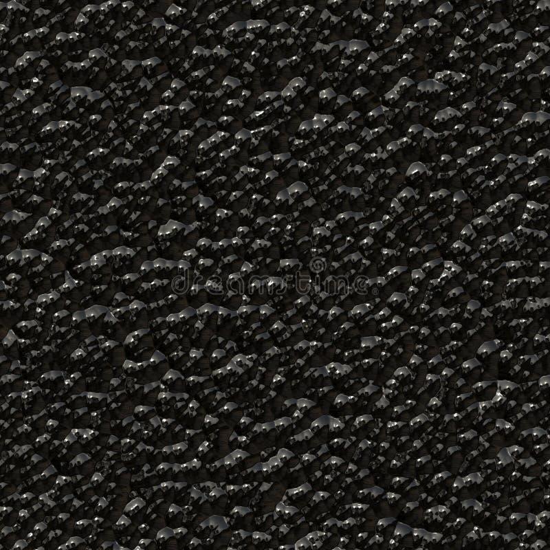 struktura pozbawione kawior. ilustracja wektor