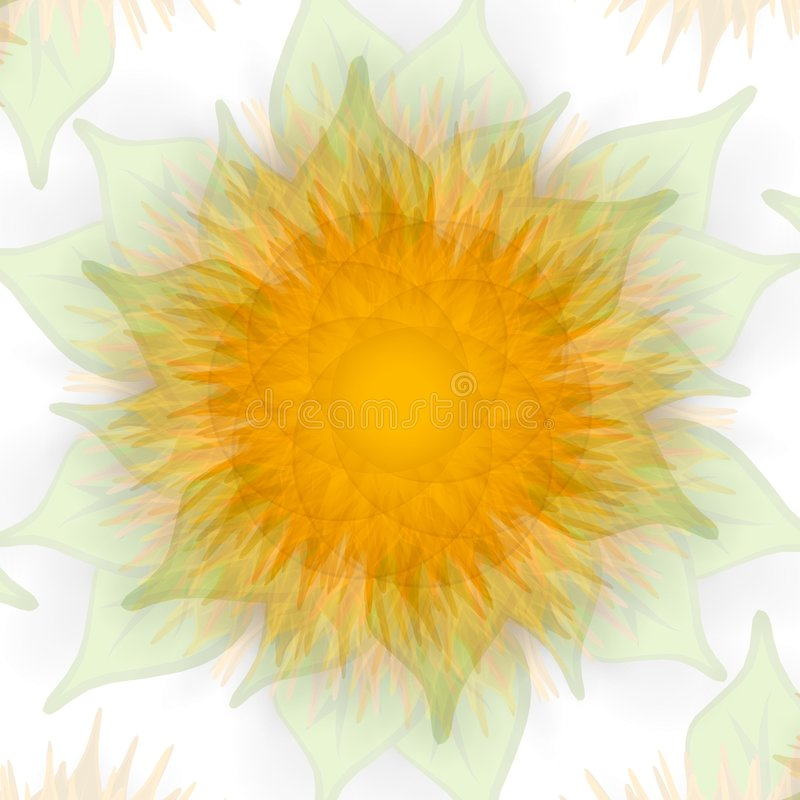 struktura słonecznikowa słabnie złota royalty ilustracja