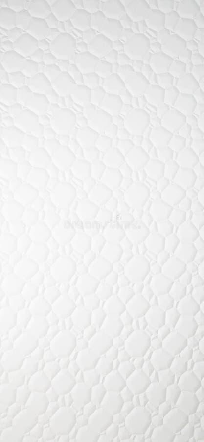 struktura syntetycznego sk?rzany materialny white Sprawnie u?ywa? jako t?o ilustracja wektor