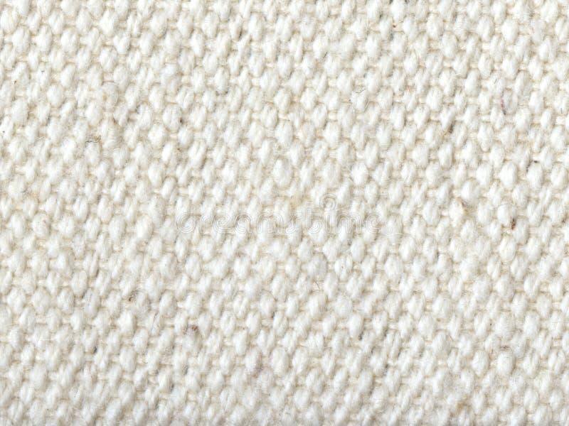 struktura tekstylnego white zdjęcia stock