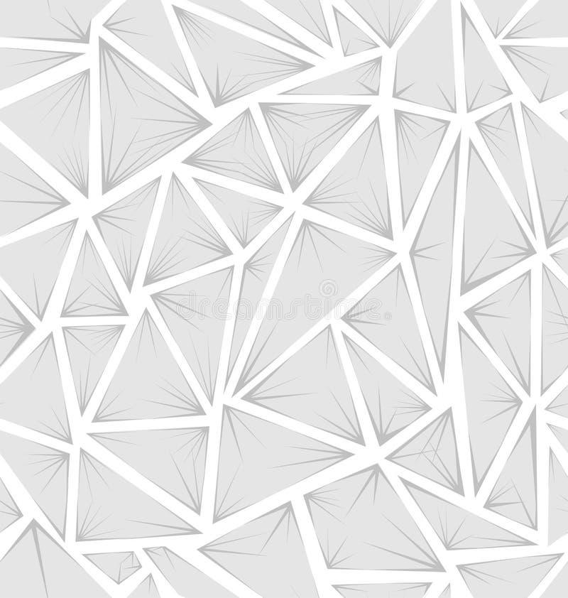 Struktura trójboki z promieniami ilustracji