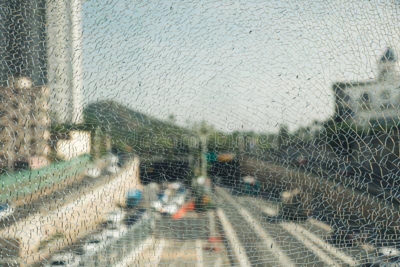 struktura złamana szklana fotografia royalty free