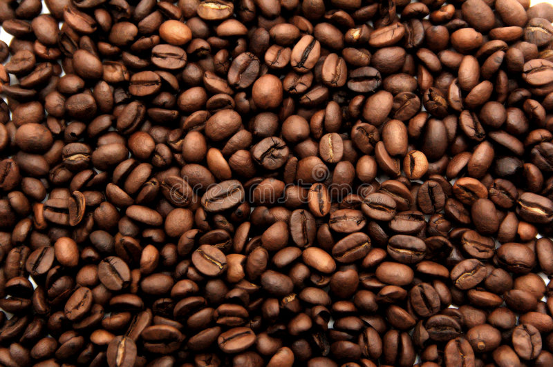 struktura ziaren kawy obraz royalty free