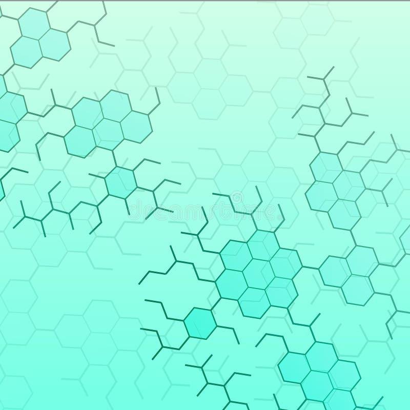 Strukturella kemiska formler av grundläggande neurotransmitters, 2d, eps 8 vektor illustrationer