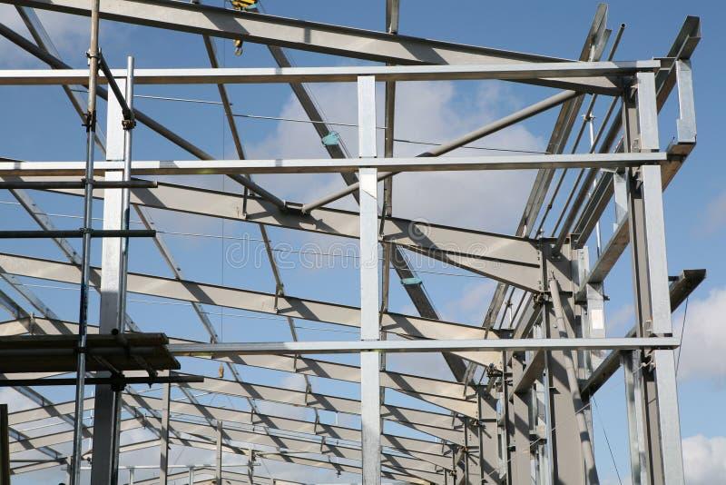 Strukturelles Stahlwerk lizenzfreies stockfoto