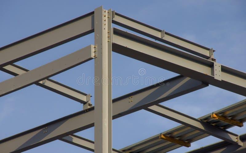 strukturellt stål arkivfoto