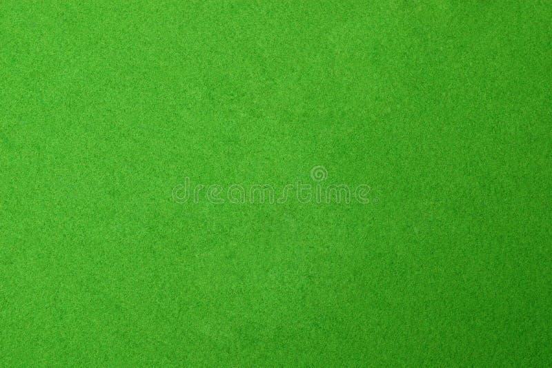 Strukturierte grüne Pooltabelle stockfotografie