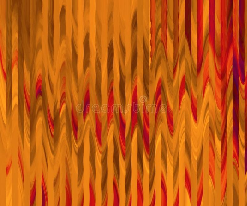 Strukturierte Tapete des Bauholzes Autumn Colors Themaart-Kunstblatt Foto eingelassene Meer-Region, die Türkei stock abbildung