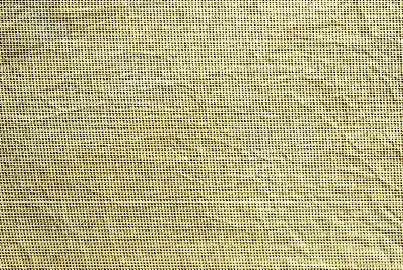 Strukturierter Hintergrund des beige zerknitterten Gewebes lizenzfreies stockbild