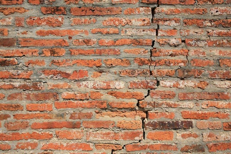 Strukturierter Hintergrund: grunge brach Ziegelsteinmuster lizenzfreie stockbilder