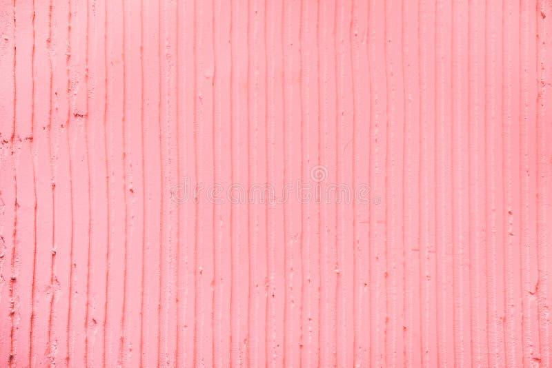 strukturierter rosa Hintergrund mit vertikalen Linien und Streifen des Gipses lizenzfreie abbildung
