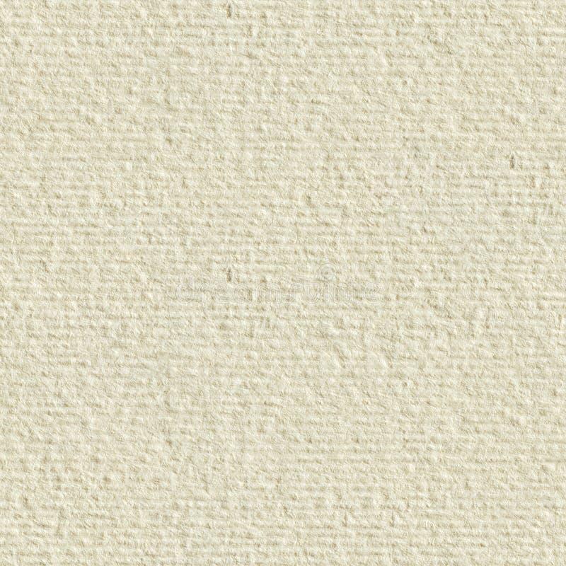 Strukturiertes Sahnepapier Nahtlose quadratische Beschaffenheit Fliese bereit stockfotos