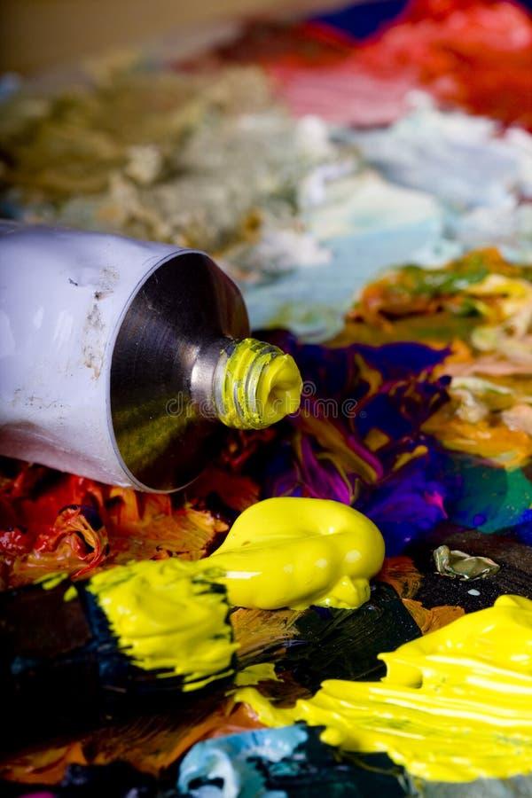 Strumentazione artistica fotografie stock