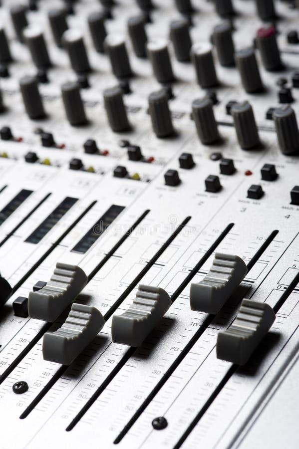 Strumentazione di audio registrazione immagine stock
