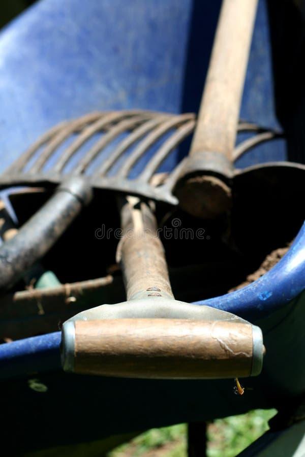Strumentazione di giardinaggio 1 immagine stock