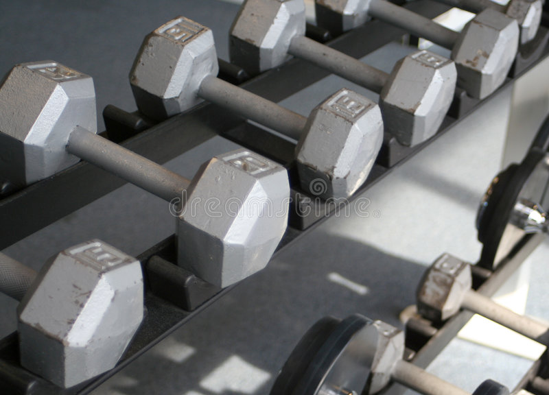Strumentazione di ginnastica immagine stock