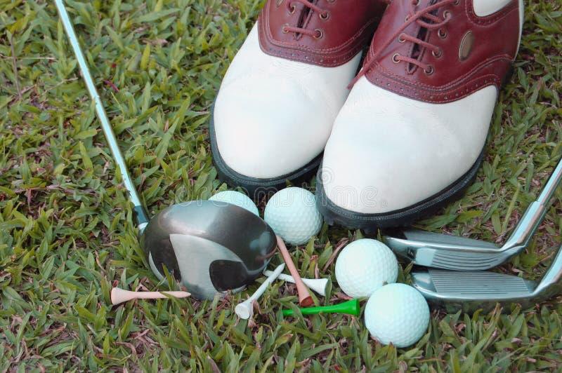Strumentazione di golf fotografie stock libere da diritti