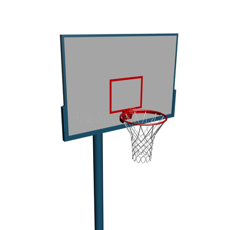 strumentazione di pallacanestro 3d illustrazione di stock