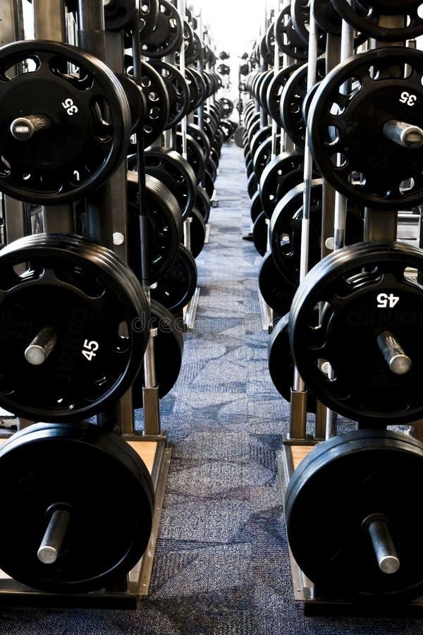 Strumentazione di Weightlifting fotografia stock