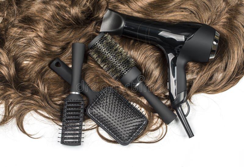 Strumenti dei parrucchieri immagine stock libera da diritti