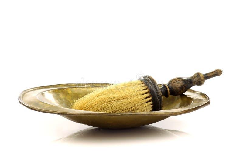 Strumenti del barbiere dell'annata fotografie stock libere da diritti
