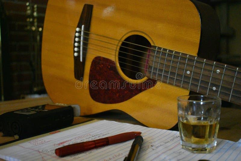 Strumenti del cantautore del commercio 2 fotografia stock libera da diritti